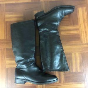 SANTANA CANADA 797 Black Leather Knee High Boots